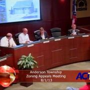 Board of Zoning Appeals Meeting 80113