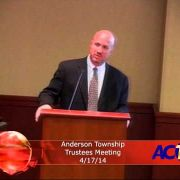 Anderson Township Trustees Meeting 4/17/14