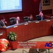 Anderson Township Trustees Meeting for 5/15/14