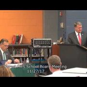 Forest Hills School Board Meeting 11/27/17