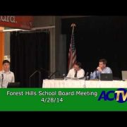 Forest Hills School Board Meeting  4/28/14