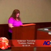 Anderson Township Trustees Meeting 6/1914