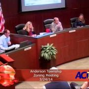 Anderson Township Zoning Meeting 3/24/14
