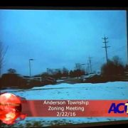 Anderson Township Zoning Meeting 2/22/16