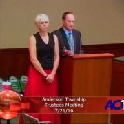 Anderson Township Trustees Meeting 7/21/16