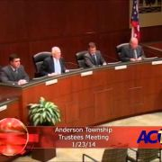 Anderson Township Trustees Meeting 1/23/14