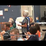 Forest Hills School Board Meeting 8/28/17