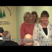 Forest Hills School Board Meeting 5/23/16