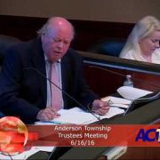 Anderson Township Trustees Meeting 6/16/16