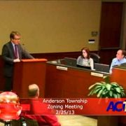 Anderson Township Zoning Meeting 2/25/13