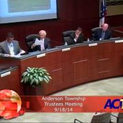Anderson Township Trustees Meeting 91814