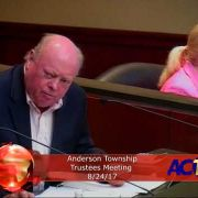 Anderson Township Trustees Meeting 8/24/17