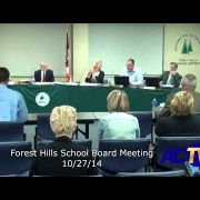 Forest Hills School Board 102714