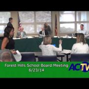 Forest Hills School Board Meeting 6/23/14