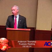 Anderson Township Trustees Meeting 10/16/14
