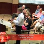 Anderson Township Trustees Meeting 9/20/18