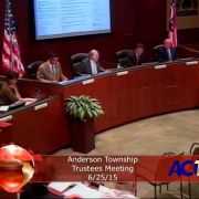 Anderson Township Trustees Meeting 6/25/15