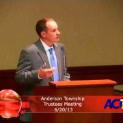 Anderson Township Trustees Meeting 6/20/13